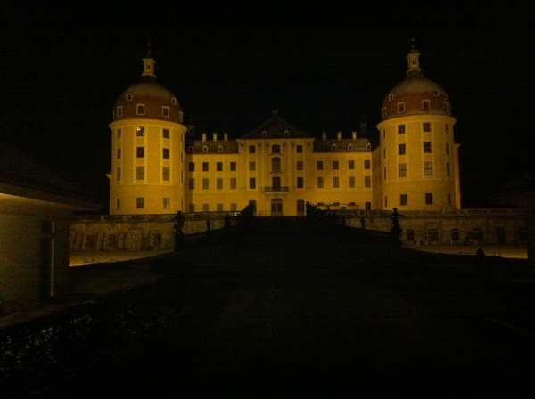 Moritzburg in der Nicht
