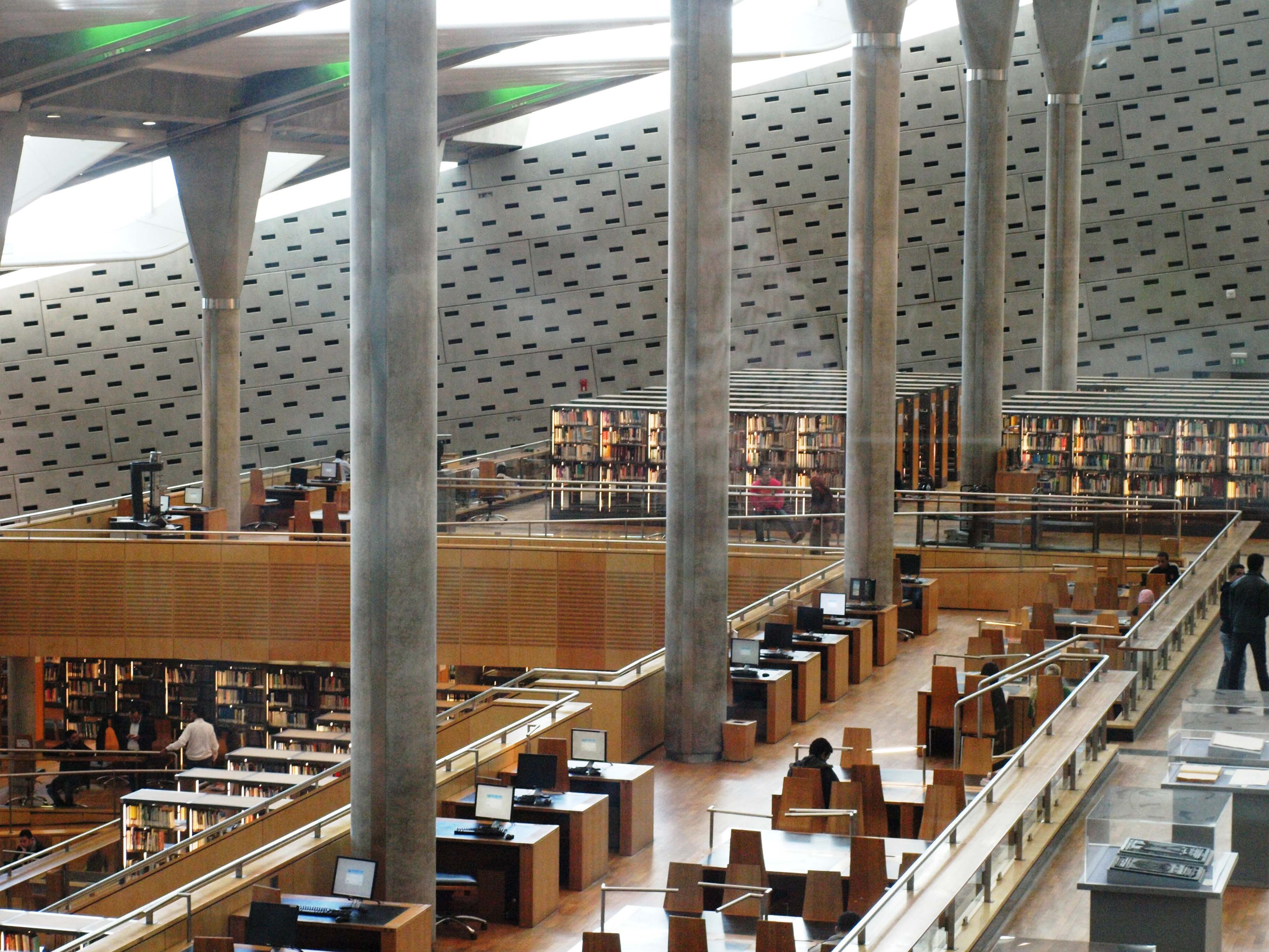 bibliothek alexandria