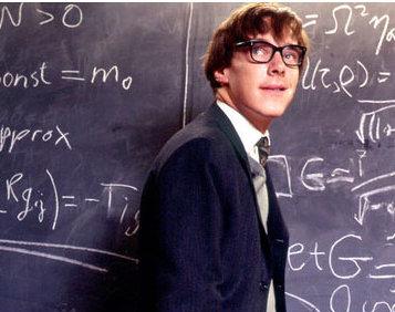 Benedict Cumberbatch als Hawking