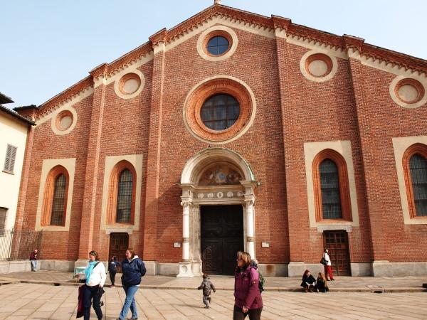 Zum Kloster Santa Maria della Grazie gehen