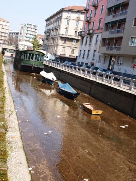 ...die vielleicht auch mal genug Wasser für ihr Schiffe haben