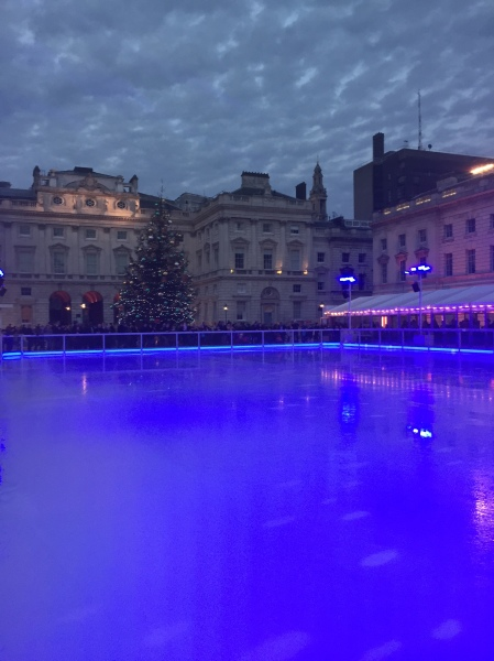 Eisbahn am Somerset House